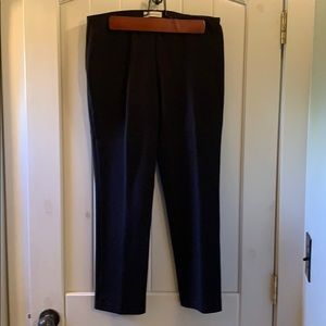 Coldwater Creek Ponte Perfect Slim leg dress pants